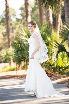 Gorgeous Bride! #hiltonhead // Photo By: http://ellisphotostudio.com