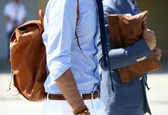 Can't beat a blue and white stripe shirt for great style