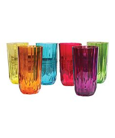 Look at this #zulilyfind! Prescott Tumbler - Set of Six by Circle Glass #zulilyfinds
