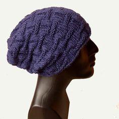 Men knit hat, cashmere beanie hat (70% Baby Alpaca/20% Cashmere/10% Mulberry Silk)