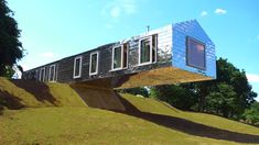 Suspended barn -- MvDRV and Mole Architects #cantilevers