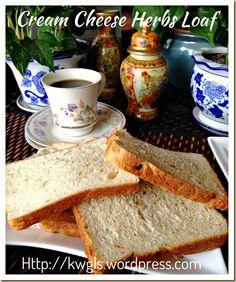 Cream Cheese Herbs Loaf (奶酪香料面包)#guaishushu #kenneth_goh#cream_cheese_bread#cream_cheese_herbs_loaf#奶酪香料面包#奶酪面包