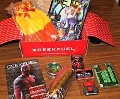 Feb 2016 Geek Fuel Box Review – Deadpool, Firefly and more! #GeekFuel
