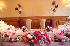 wedding会場の装花
