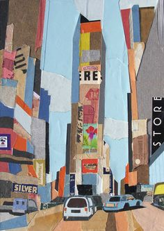 ANDY BURGESS ART - Cityscape Collage