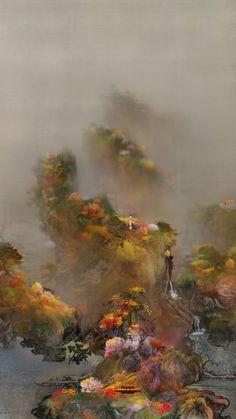 Lee Nam Lee, Early Spring Drawing - Four Seasons 2 @artsy