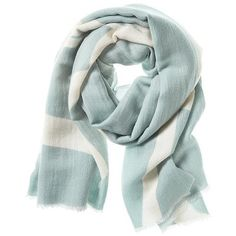 Banana Republic Womens Textured Stripe Scarf ($60) ❤ liked on Polyvore featuring accessories, scarves, sidewalk gray, banana republic scarves, striped scarves, grey shawl, banana republic and gray scarves