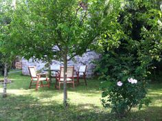 Holiday home Marilella in Lucca (Tuscany): garden wih in the backside house