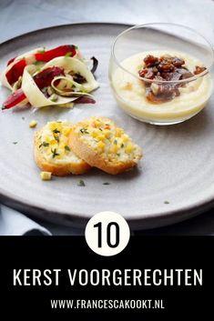10 feestelijke kerstvoorgerechten - Apocalypse Now And Then 21 Day Fix, Clean Eating, Soup Appetizers, Good Food, Yummy Food, Gluten, Food Inspiration, New Recipes, Kids Meals