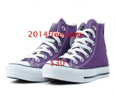 fa45500c4f5a Converse Shoes Purple Chuck Taylor All Star Classic High Top