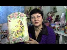Панно-фреска с ангелами своими руками ХоббиМаркет#26 выпуск - YouTube