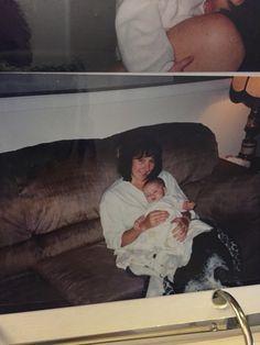 My momma and I