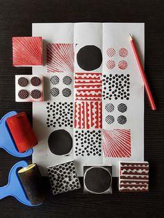 Znalezione obrazy dla zapytania textile print techniques