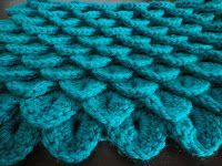 ...so I came across a lovely pattern on www.ravelry.com that included using, what they called, the Crocodile Stitch.  Firstly, I have no pr...
