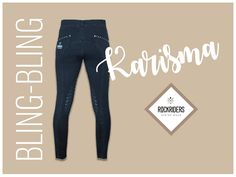 Bling Bling Reithose von Rockriders! Bling Bling, Skinny Jeans, Pants, How To Wear, Fashion, Horse Riding Fashion, Horseback Riding, Trouser Pants, Moda