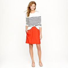 this skirt is literally perfect...except for the price, which caused me to put it down right on the spot.