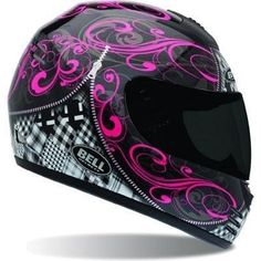 Bell - Arrow Zipped Helmet - Motocross gear, parts and accessories distributor - Online Motocross Store - We offer some of the most competitive prices in the industry. We are a store that is dedicated to the motocross customer, You want it, we can get it! Pink Motorcycle Helmet, Full Face Motorcycle Helmets, Racing Helmets, Full Face Helmets, Women Motorcycle, Pink Helmet, Motorcycle Clothes, Motorcycle Style, Lady Biker