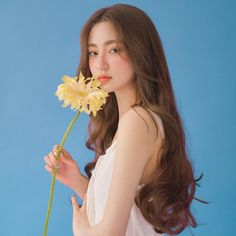 Pretty Korean Girls, Cute Korean Girl, Asian Girl, Korean Beauty, Asian Beauty, Korean Long Hair, Korean Hair Color, Korean Girl Photo, Human Poses