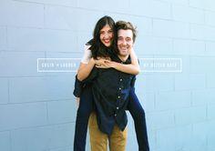My Better Half featuring Lauren + Colin via @amandajanejones