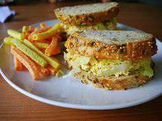 Tofu sandwich simili eggs | Flickr - Photo Sharing!
