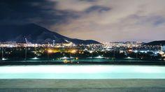 Ahh this reminds me of Fujairah, UAE. Habita Monterrey in Mexico