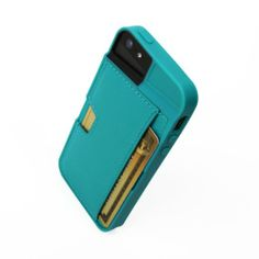 Amazon.com: CM4 iPhone Wallet Q Card Case for Apple iPhone 5/5S - Pacific Green: Cell Phones & Accessories