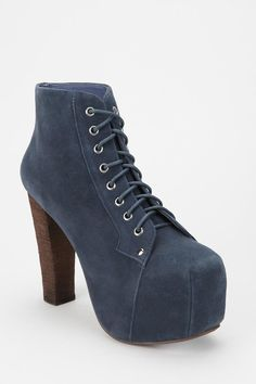 Jeffrey Campbell Suede Lita Boot Online Only: want in green & grey & black!