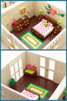 bedroom - not minifig scale