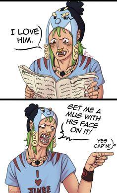 Bartolomeo the Kannibal Jimbe One Piece