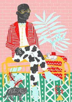 Camilla Perkins, Print ~ $82 from UK