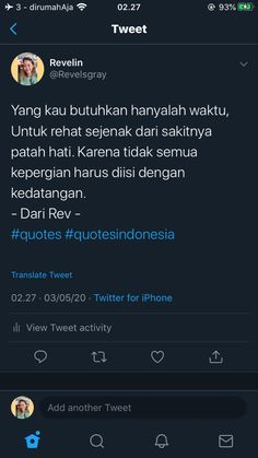 """*nasehatin diri sendiri* - """" The Effective Pictures We Offer You About trends popular A quality picture can tell you many t - Story Quotes, Life Quotes, Text Quotes, Qoutes, Wallflower Quotes, You Can Do, Told You So, Twitter Quotes, Picture Quotes"""