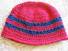 Kathy's Cross-Stitch Hat pattern by Kathy North