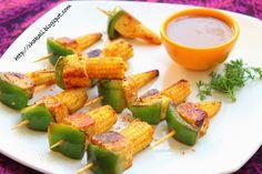 Veg Starter Recipes, Veg Recipes, Vegetarian Recipes, Cooking Recipes, Cooking Time, Veg Appetizers, Indian Appetizers, Appetizer Recipes, Kitchens