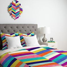 Jacqueline Maldonado Upward 1 Duvet Cover | DENY Designs Home Accessories