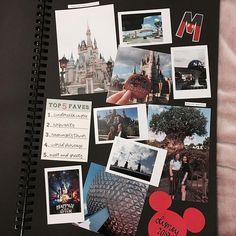 started my WDW scrapbook and watched a whole load of Netflix . Photo Album Scrapbooking, Scrapbook Albums, Scrapbook Cards, Disney Scrapbook, Baby Scrapbook, Friend Scrapbook, Travel Journal Scrapbook, Anniversary Scrapbook, Notebook Art