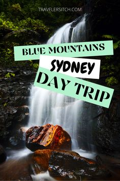 Looking for the perfect day trip from Sydney, Australia? The Blue Mountains will surprise you! Rugged nature, waterfalls and beautiful hiking trails. #australia #bluemountains #adventure #hiking #travel #travelblog New Travel, Solo Travel, Travel Usa, New Zealand Cities, New Zealand Travel Guide, Australia Travel Guide, Worldwide Travel, Blue Mountain, Travel Aesthetic