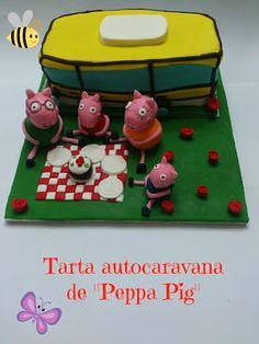 "THE 3C QUEEN: TARTAS DE ""PEPPA PIG"". PEPPA PIG CAKES."