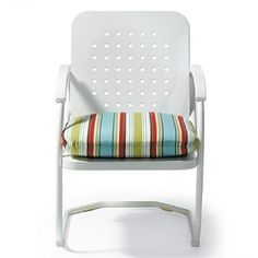 Retro Squares Spring Chair