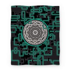 Twilight Princess Sigil - Get lost in this Twilight Princess Legend of Zelda Sigil and get transported to the Twilight Realm and Place of Twilight with this nerdy game portal design.