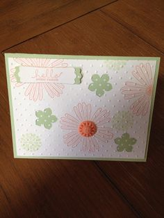 Greeting  Stampin' Up card made to order FREE SHIPPING by bduwe, $2.00