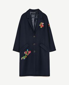Image 8 of PATCH COAT from Zara