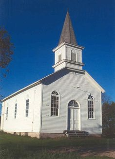 This picture is of a church which reminds me of when Dan learns he has the exact same name as the crazily disturbed warden who worked for Brookline many years ago. Dan goes into the little town and asks a priest if he knew his birth parents and if there was any way he was related to the warden, Daniel Crawford.