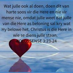 God is liefde I Love You God, Gods Love, Bible Notes, Bible Verses, Afrikaans Quotes, Everlasting Life, Faith In Love, New Journey, Christian Women