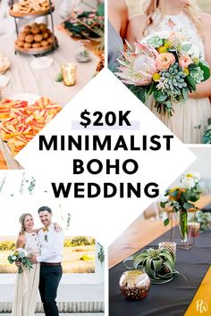Life Hacks : This Breezy, Boho Wedding Is a Master Class in Maximizing Your Budget Inexpensive Wedding Centerpieces, Wedding Flower Decorations, Decor Wedding, Flowers Decoration, Wedding Parties, Wedding Table, Wedding Flowers, Wedding Wishes, Wedding Favors