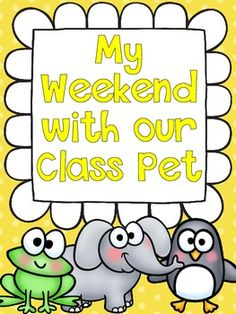 Meet Our New Class Pet (and a class pet Freebie!) | teaching ideas ...