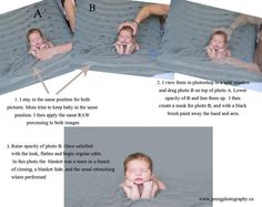 How to safely pose a newborn    Head in hands - newborn composition