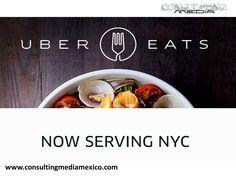 LA MEJOR AGENCIA DIGITAL. Uber te lleva de comer con UberEATS. Esta nueva función servirá para que los usuarios puedan pedir alimentos de los restaurantes locales más conocidos además de que las entregas se realizarán en aproximadamente 10 minutos. Esta opción está disponible en Barcelona, Chicago, Nueva York y Los Angeles. #lamejoragenciadigital