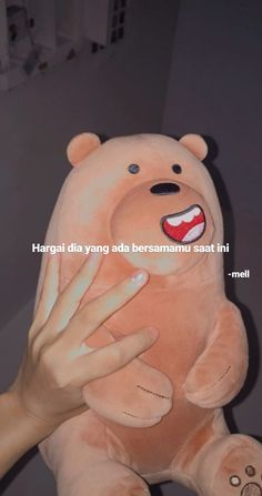 Short Happy Quotes, Space Iphone Wallpaper, Cinta Quotes, Quotes Galau, Hurt Quotes, Caption Quotes, Cute Anime Pics, Bare Bears, Heartfelt Quotes