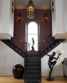 Converted chapel, wonderful staircases