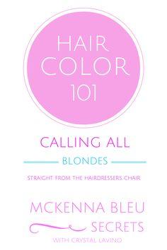 Hair Color - violet ash blonde